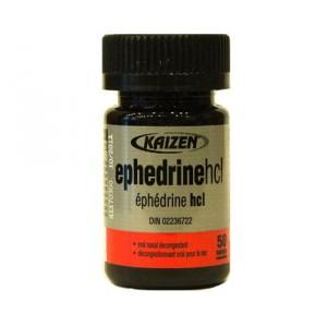 Kaizen Ephedrine 50 Tablets